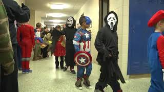 NES SCHOOL HALLOWEEN PARADE 10-31-17