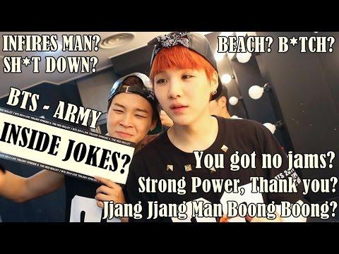 Download Lagu BTS - ARMY INSIDE JOKES #1 (Only BTS Stans Understand xD) MP3 Free
