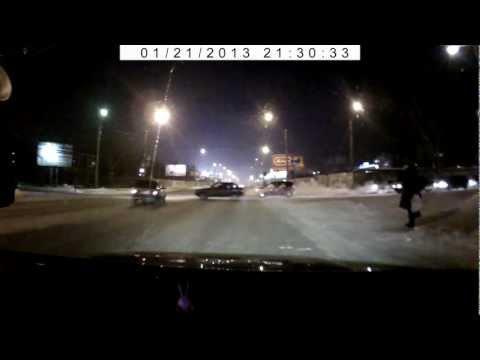 ДТП в Омске.AVI