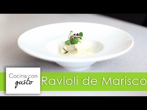 Ravioli de Marisco por Mario Sandoval