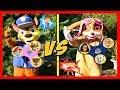 Paw Patrol Plays WORLD'S BIGGEST Fidget Spinners Game Boys vs Girls   Ellie Sparkles
