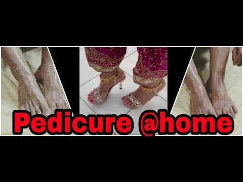 ORGANIC PEDICURE AT HOME | STEP BY STEP TUTORIAL | TAN REMOVAL SPA PEDICURE