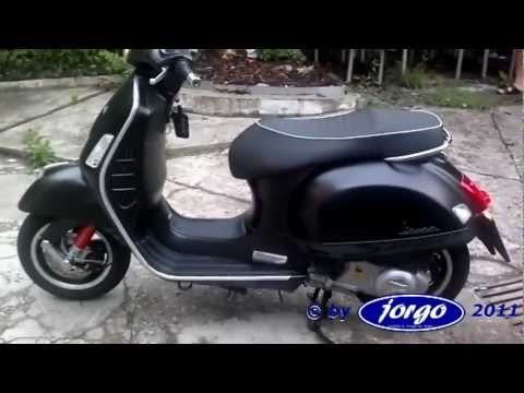 vespa gts 300 super sport remus sound youtube. Black Bedroom Furniture Sets. Home Design Ideas