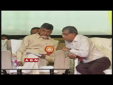 AP CM Chandrababu Attends May Day Celebrations At Vijayawada LIVE | ABN Live