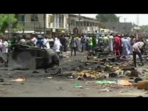 Bomb blast in Nigeria kills at least 20