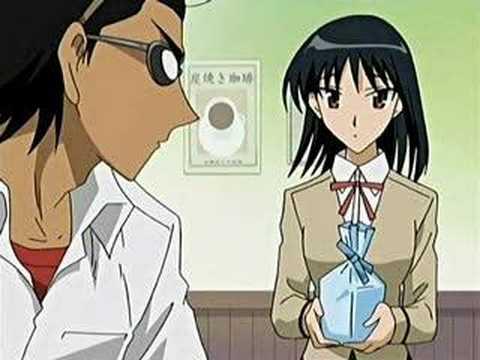 Yakumo And Harima School Rumble amour Ya...