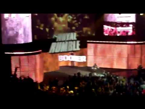 Booker T enterance - 2011 WWE Royal Rumble