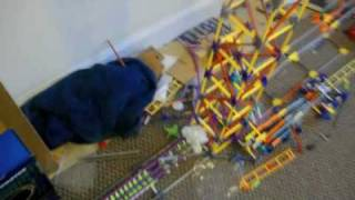 knex rube goldberg machine halo kitty