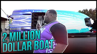 OMI IN A HELLCAT CHECKS OUT A 2 MILLION DOLLAR BOAT