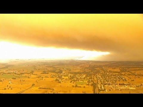 Wildfires devastate Australia - no comment