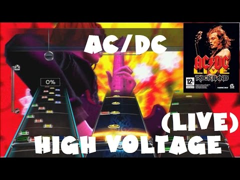 ACDC  High Voltage   ACDC : Rock Band Track Pack Expert Full Band