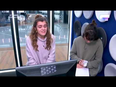Amaia canta su canción para Eurovision