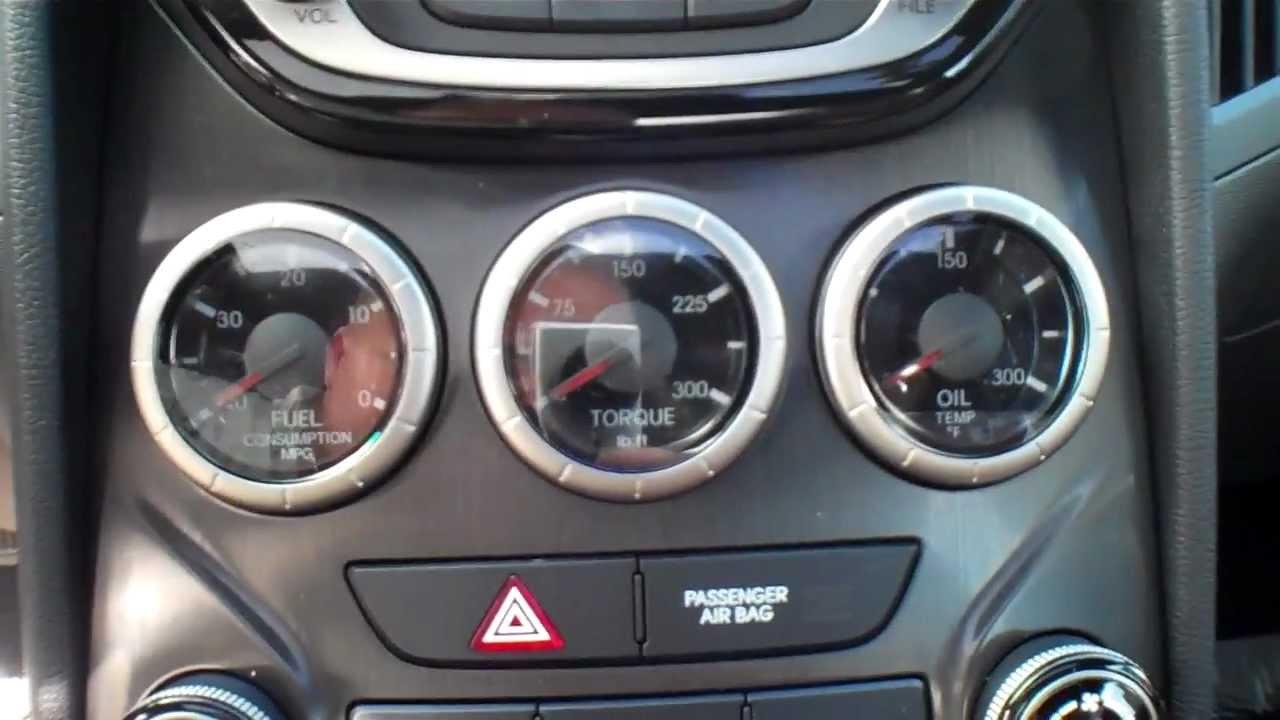 Hyundai Genesis 2012 Coupe >> 2013 Hyundai Genesis Coupe interior tour - YouTube