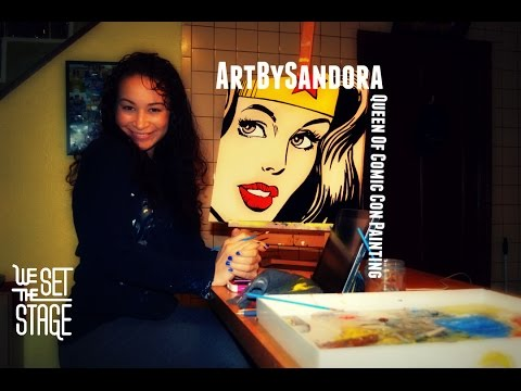 What Inspires You? Season 1: Sandora Ruiz - Comic Con Queen Of Painting