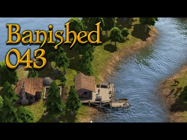 BANISHED [WQHD] #043 - Wohnen am Arbeitsplatz ★ Let's Play Banished