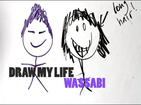 Richard And Rolanda Drawings Draw my Life Wassabi