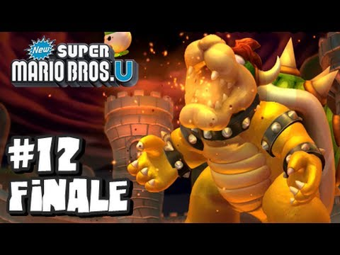 New Super Mario Bros U Wii U - Part 12 World 8 FINALE