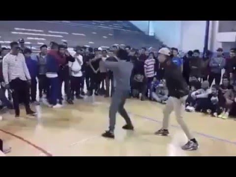 تحدي بين جزائريين و مغاربة في الرقص على الشعبي بطريقة مضحكة في فرنسا thumbnail