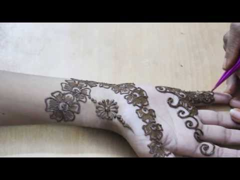 Mehandi Design Front Hand Video 20 - Ilovemehandi.tv video