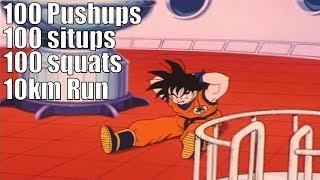 What If Goku Did Saitama