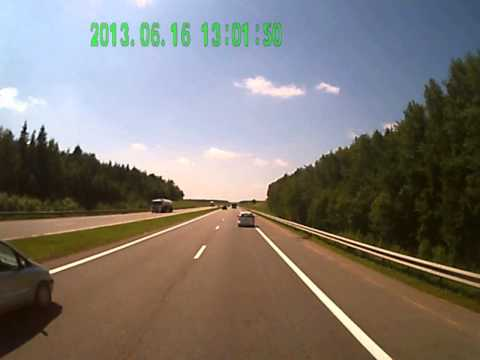 Авария м1 возле Минска