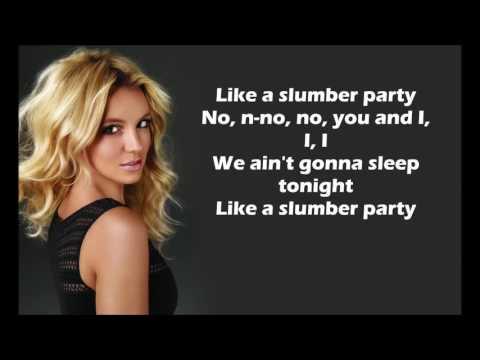 Britney Spears   Slumber Party ft  Tinashe Lyrics