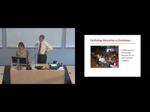 Meeting the Challenge of Cardiovascular Disease in Africa   Global Health Lecture Series