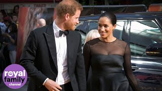Duke and Duchess of Sussex Meet Beyoncé and Jay Z at Lion King Premiere