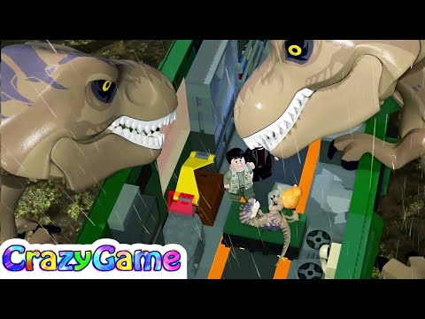 Lego #Dinosaurs Jurassic Mini Game Movie - #LEGO Jurassic World For Children & Kids