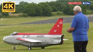 GIANT SCALE RC English Electric Lightning JET (*TWO TURBINE ENGINES*) [*UltraHD and 4K*]