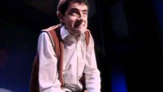 Star of Mr Bean   Funny invisible drum