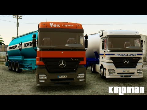 Mercedes-Benz Actros Trailer Simon Loos