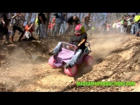 INSANE REDNECK BARBIE JEEP RACING