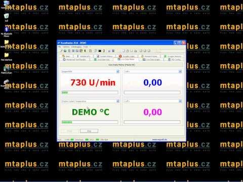 Autodiagnostika ELM 327 softwares ScanMaster ve WIN XP