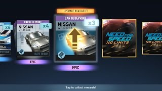 Need For Speed No Limits Spending 2,925 GOLD on Crate