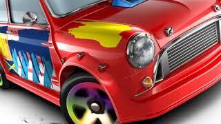 Parte 1) custom de carro Morris Mini hot Wheels pra dos amigos