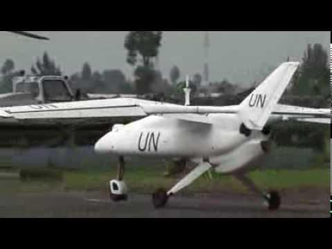 UN mission launches first surveillance drone