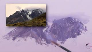 How to Paint Mountains with Clouds