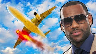 LeBron Thinks He Can Survive A Plane Crash