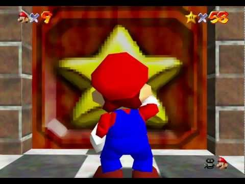 "N64 Super Mario 64 ""70 Stars BLJless"" in 42:58:52"