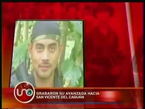 Grabaron la avanzada de El Paisa hacia San Vicente del Caguán