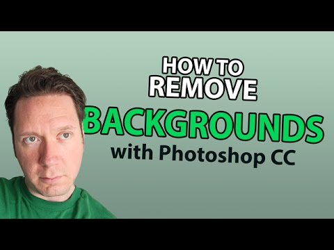 Remove Backgrounds with Photoshop CC