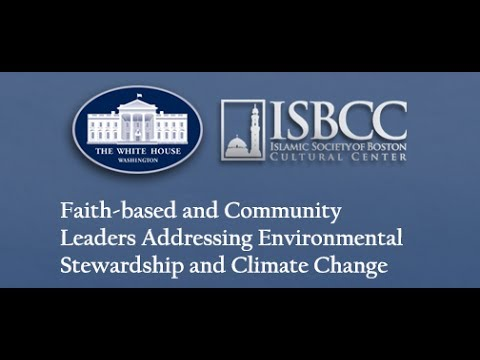 White House's Faith-based and Community Leaders Addressing Climate Change