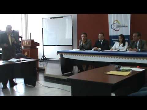 Audiencia en Tribunal del Carchi - Audiencias Reales - 1