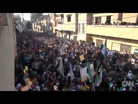Homs: City Under Siege - CNN Report on Syria