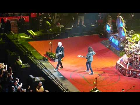 RUSH - The Spirit Of Radio - Toronto Air Canada Center ACC Oct 14, 2012 Clockwork Angels Tour