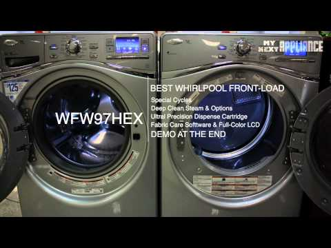Whirlpool Duet Front Load Washer Review Washing Machine Reviews WFW97HEXW WFW97HEX WFW97HEXL