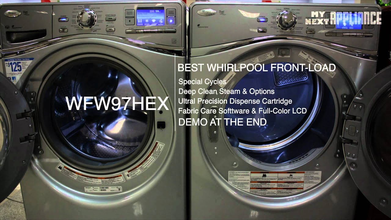 Whirlpool Duet Front Load Washer Review Washing Machine