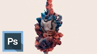 Efecto retrato de tintas en agua - Tutorial Photoshop