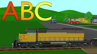 Diesel Alphabet Train Learning For Kids